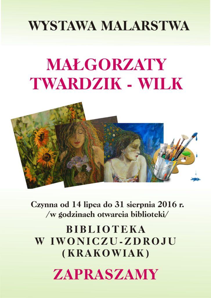 Wystawa Malarstwa Małgorzaty Twardzik – Wilk