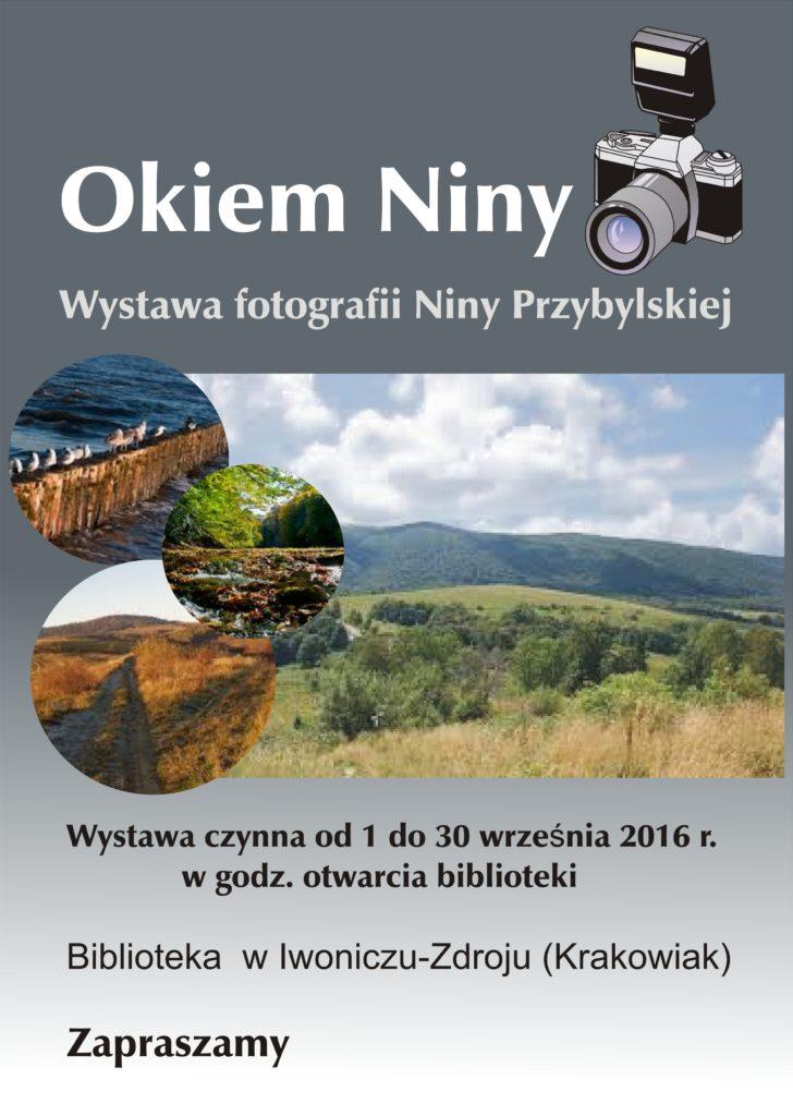 Wystawa fotografii Niny Przybylskiej