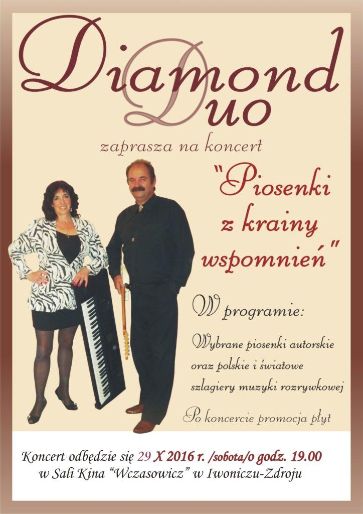 """Koncert Zespołu """"Diamond Duo"""""""