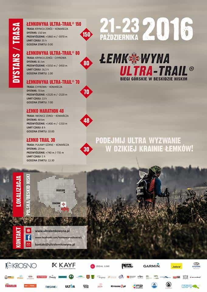 Łemkowyna Ultra Trail 21-23 X 2016