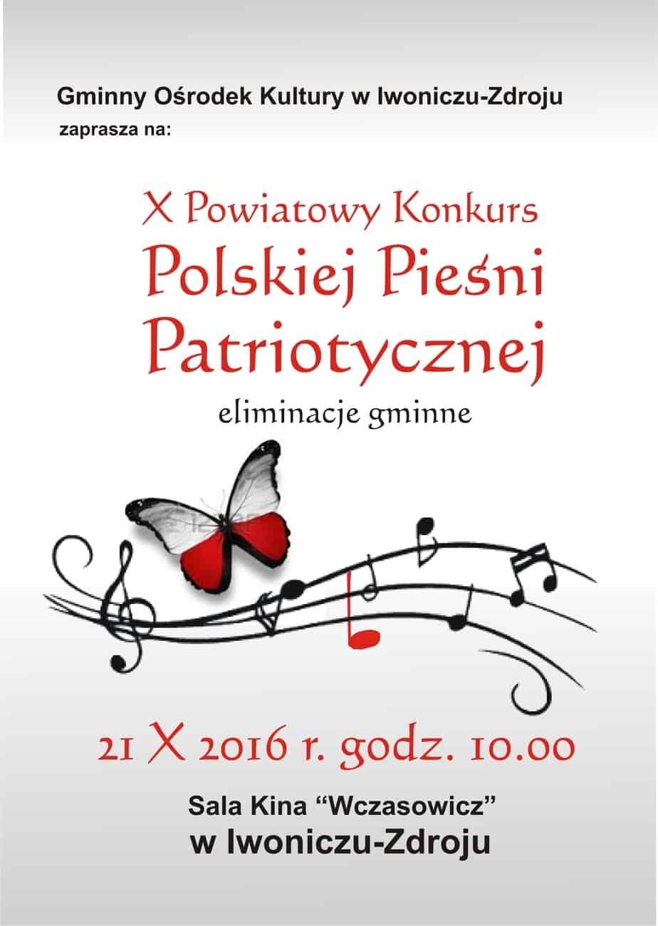 X Powiatowy Konkurs Polskiej Pieśni Patriotycznej
