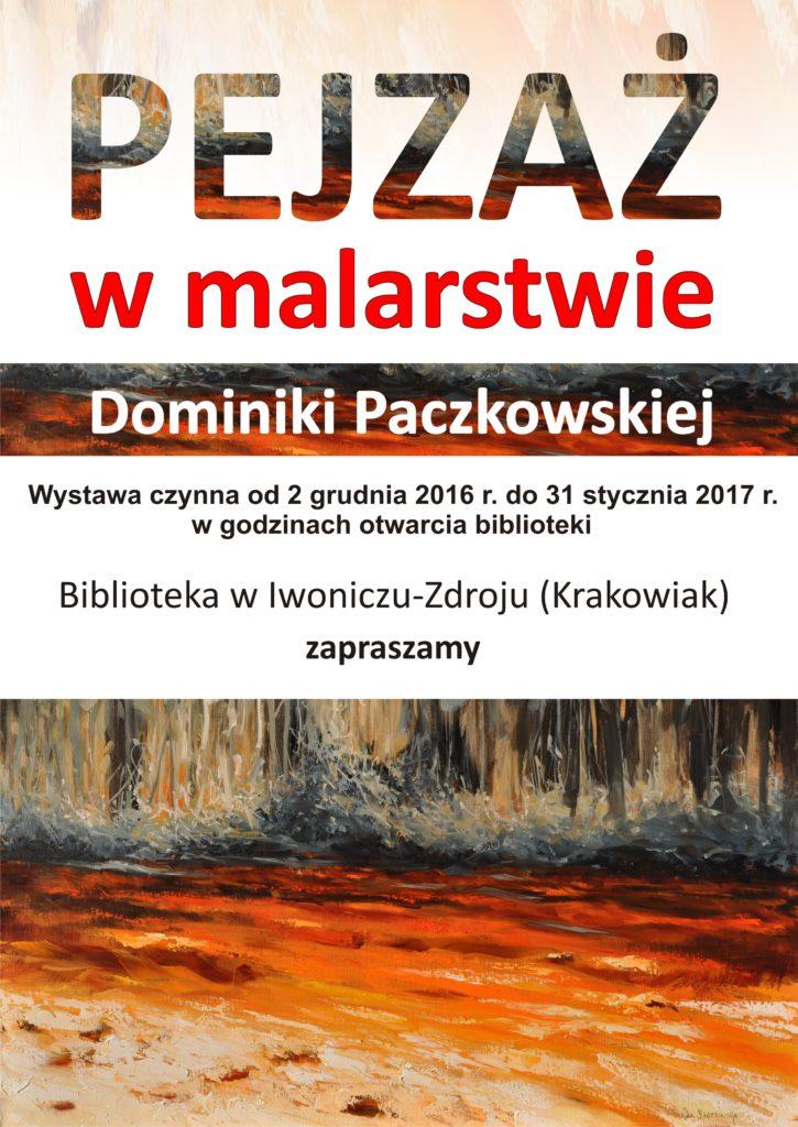 Pejzaż w malarstwie Dominiki Paczkowskiej