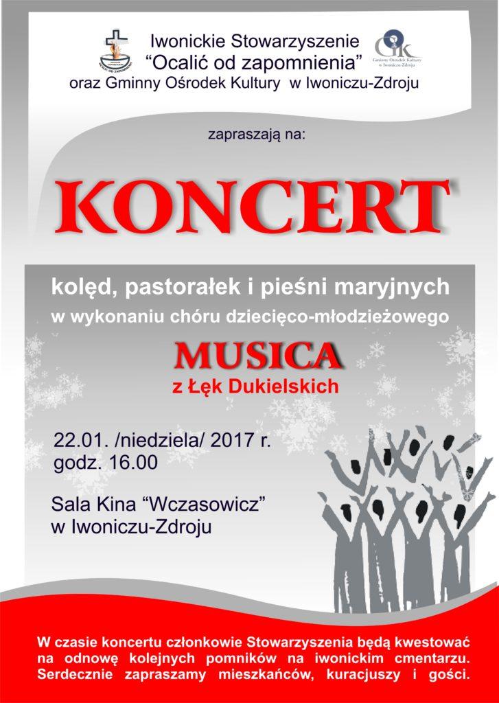 Koncert dziecięco – młodzieżowego Chóru MUSICA