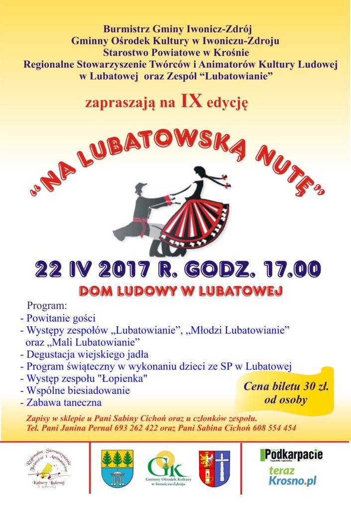 """""""Na Lubatowską Nutę"""""""