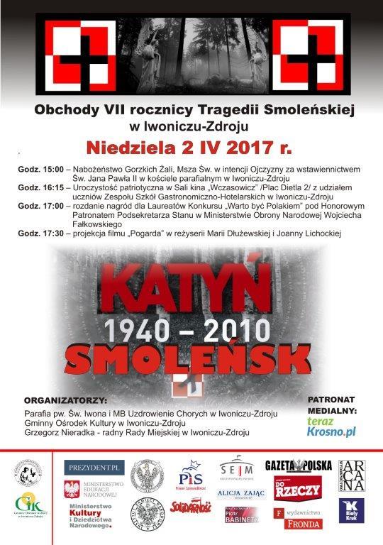 Obchody VII Rocznicy Tragedii Smoleńskiej