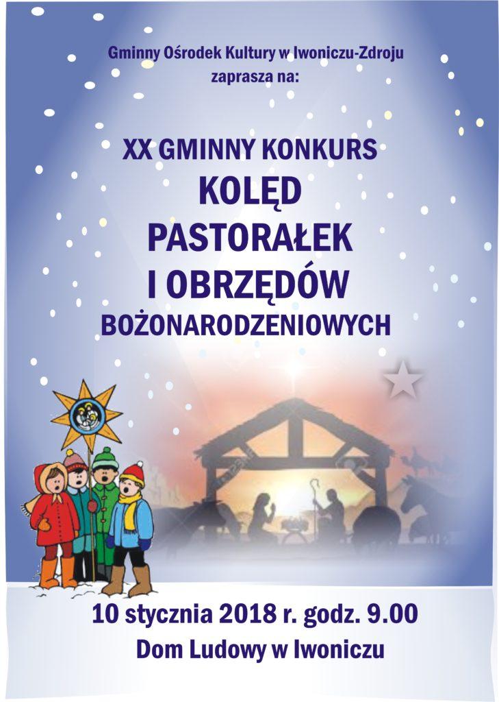 XX Gminny Konkurs Kolęd, Pastorałek i Tradycji Bożonarodzeniowych