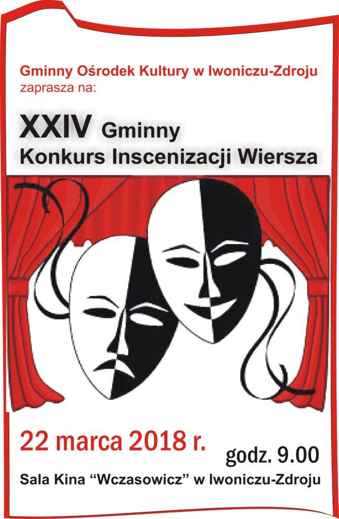XXIV Gminny Konkurs Inscenizacji Wiersza