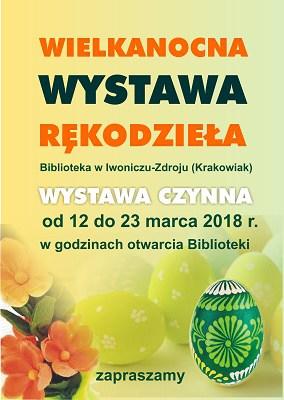 Wielkanocna wystawa rękodzieła