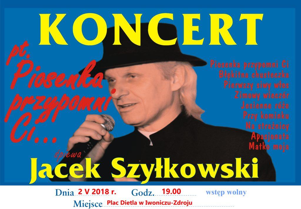 Koncert Jacka Szyłkowskiego