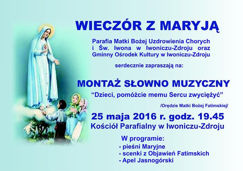 Wieczór z Maryją