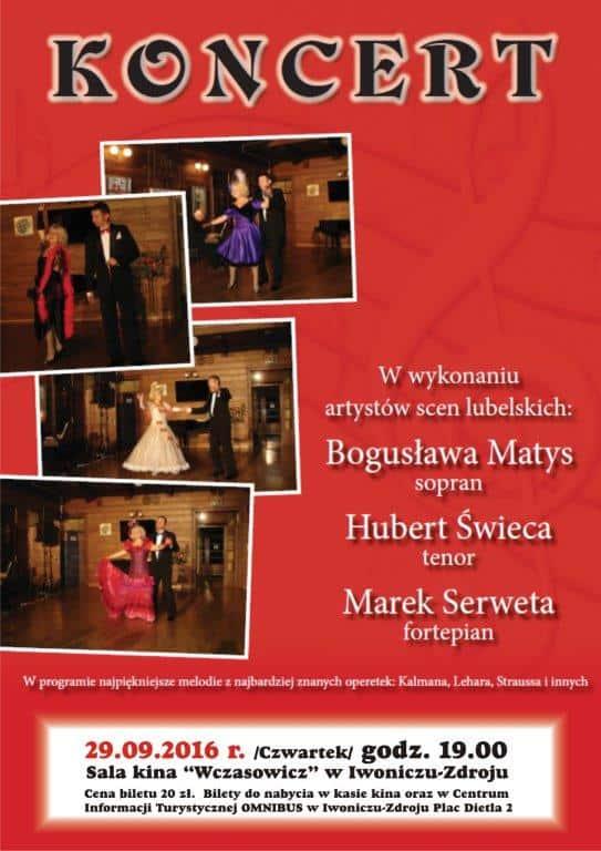 Zaczarowana Operetka – koncert w wykonaniu artystów scen lubelskich