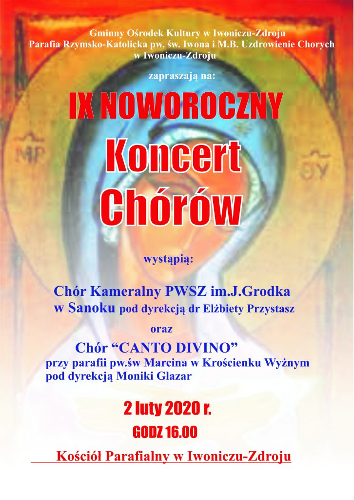 IX Noworoczny Koncert Chórów