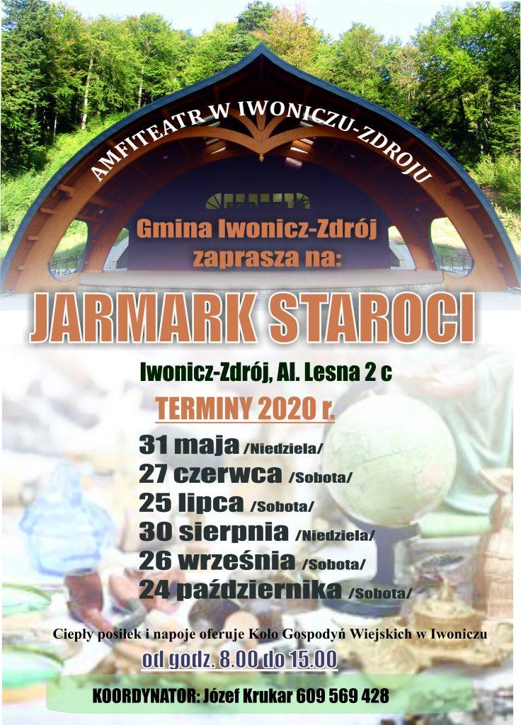 Jarmark Staroci Amfiteatr Iwonicz-Zdrój