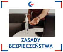 """ZASADY BEZPIECZEŃSTWA W SALI WIDOWISKOWO-KINOWEJ """"WCZASOWICZ"""" W IWONICZU-ZDROJU"""