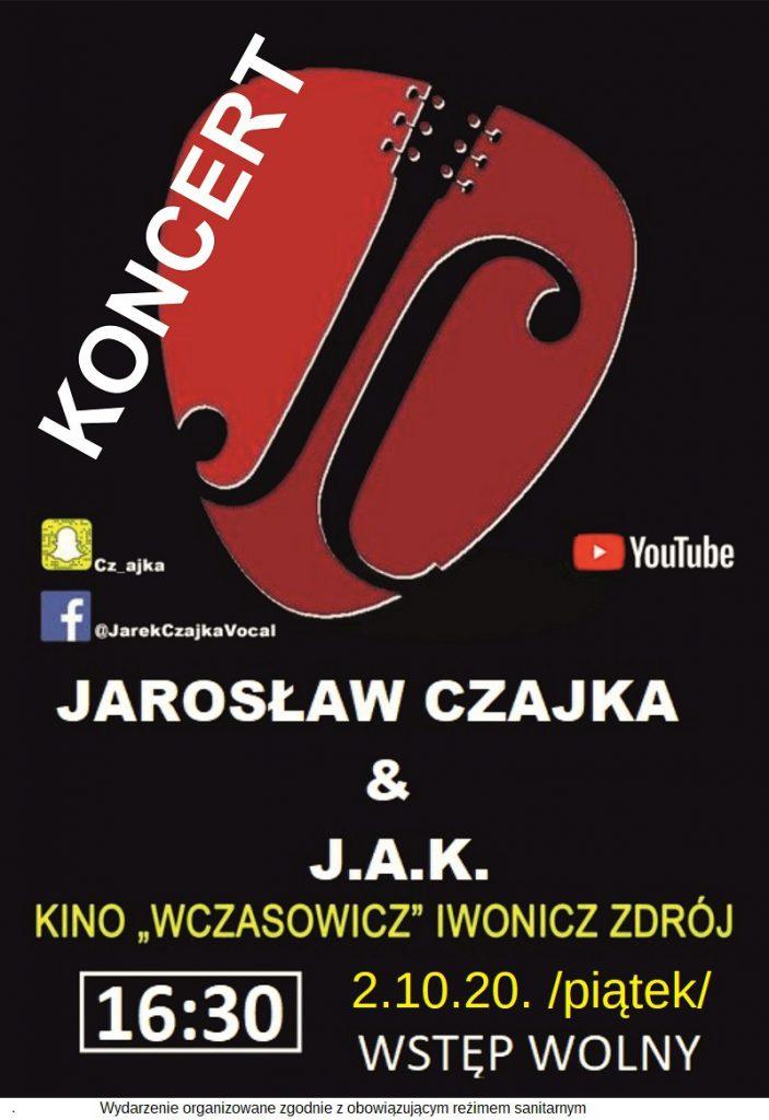 Koncert zespołu Jarosław Czajka & J.A.K.
