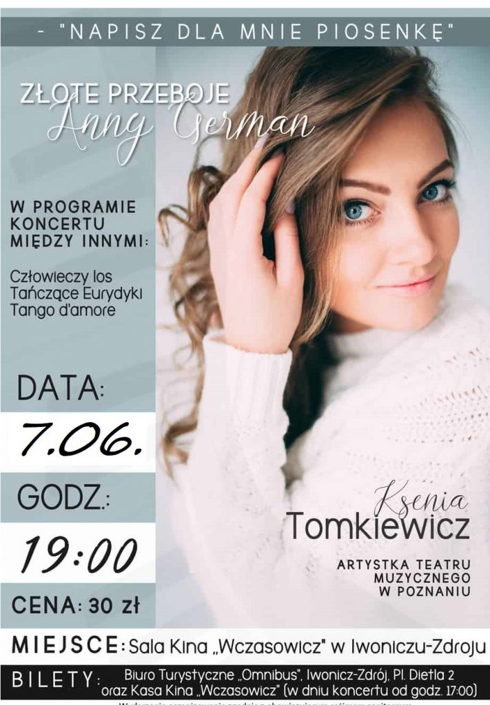 Koncert : Złote przeboje Anny German