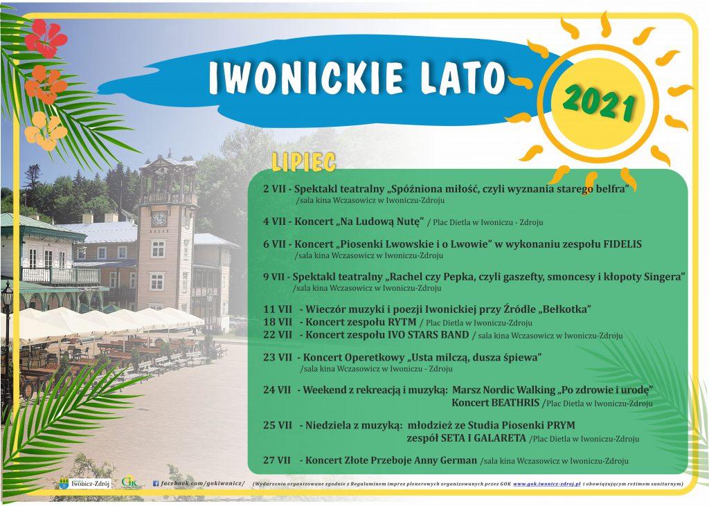 IWONICKIE LATO 2021