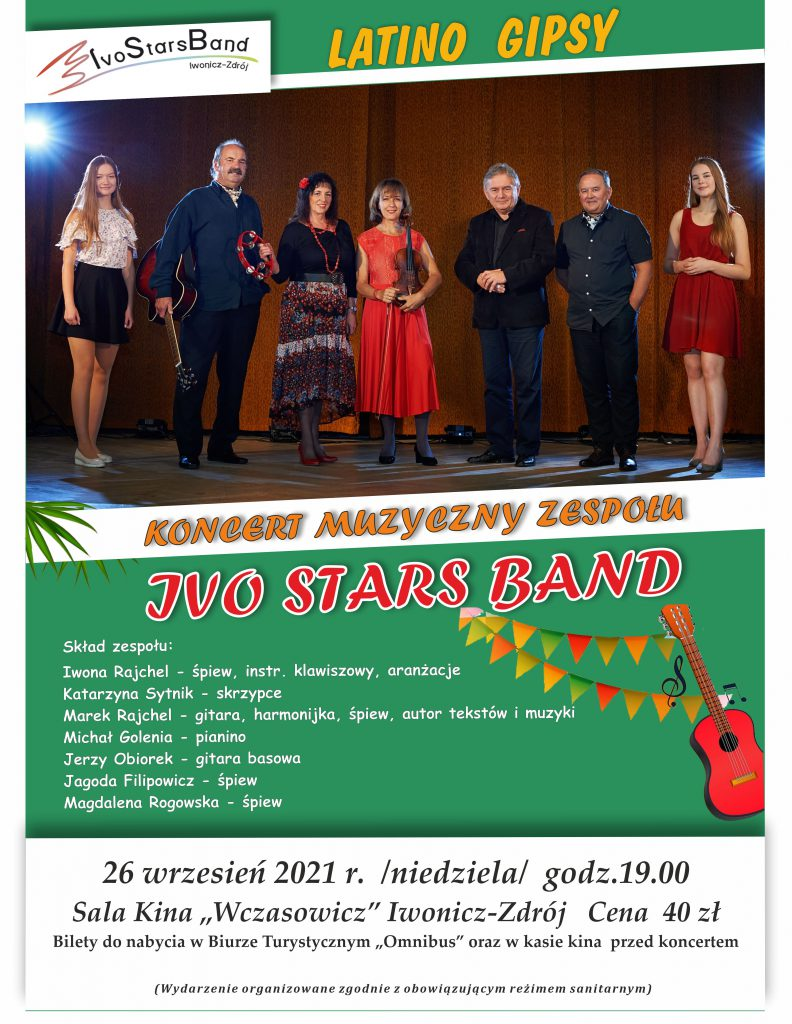 Koncert zespołu IVO STARS BAND