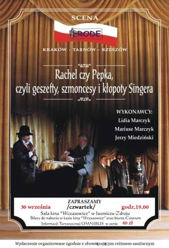 Rachel czy Pepka, czyli geszefty, szmoncesy i kłopoty Singera