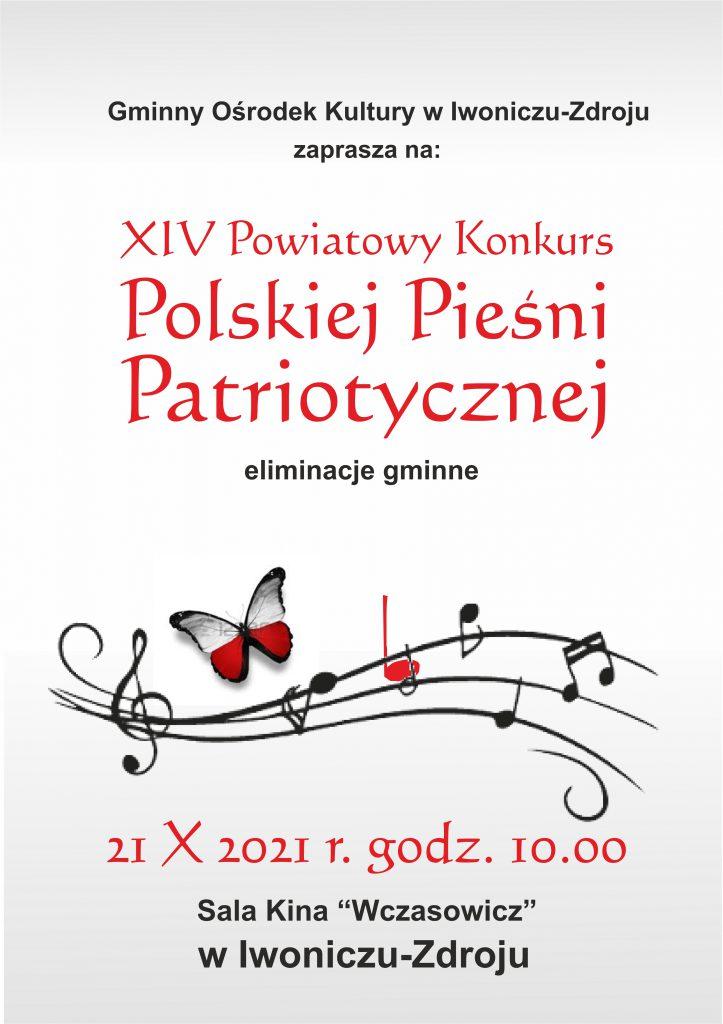 XIV Powiatowy Konkurs Polskiej Pieśni Patriotycznej – eliminacje gminne-